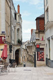 Square Place du Pilori στη Angers, Γαλλία Στοκ εικόνα με δικαίωμα ελεύθερης χρήσης