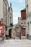 Square Place du Pilori verärgert herein, Frankreich lizenzfreies stockbild