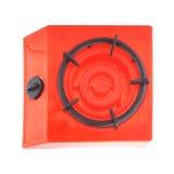 Square plastic gas stove kid`s toy Stock Photos
