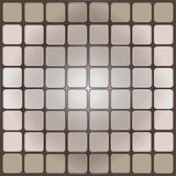 Square. Plastic substrate, a set of shadows, shadow palette, shades for shading Stock Images