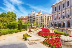 Free Square Plaza De Oriente, Madrid Stock Image - 124325271