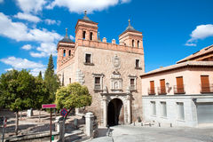 Square  Plaza de San Martin, Toledo, Spain. Stock Photos