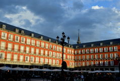Square. Plaza Mayor in Madrid, Spain Royalty Free Stock Image