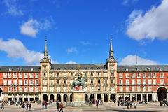 Square Plaza Mayor Royalty Free Stock Photo