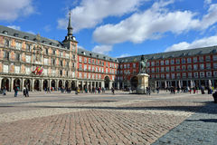 Square Plaza Mayor Royalty Free Stock Images