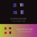 Square plus logo. This is square plus logo icon vector Royalty Free Stock Photo