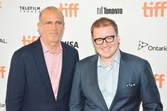 The Square premiere at Toronto International Film Festival. `The Square` premiere at Elgin Theatre, Toronto, Canada.. toronto, canada TIFF2017 actors directors Royalty Free Stock Image