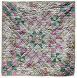Square quilt Stock Images