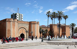 Square in Rabat, Morocco Royalty Free Stock Image