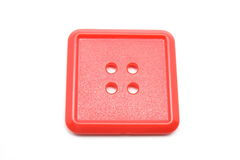 A square red button Royalty Free Stock Photos