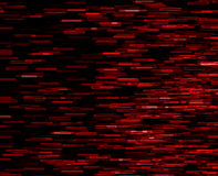 Square red vivid 8-bit pixel teleport blast Royalty Free Stock Image