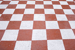Square red and white Royalty Free Stock Photos