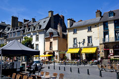 Square in Rennes Royalty Free Stock Images