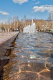 Square of Robinson Crusoe. Tobolsk Royalty Free Stock Images