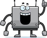 Square Robot Idea Stock Photo