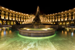 Square in Rome. Square of the republica in Rome, Italy Royalty Free Stock Photos