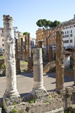 Square in Rome Royalty Free Stock Images