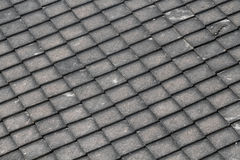 Square roof pattern Stock Photos