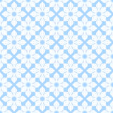 Square rosettes seamless pattern Royalty Free Stock Photo
