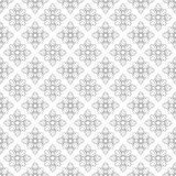 Square rosettes seamless pattern Stock Photography