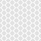 Square rosettes seamless pattern Royalty Free Stock Image