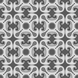 Square rosettes seamless pattern Stock Image