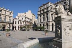 Square Saint Francis of Assisi, Havana, Cuba Royalty Free Stock Photo