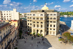 The Square of San Francisco in Old Havana Royalty Free Stock Image