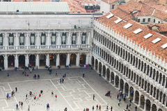 Square San Marco, Venice, Italy Royalty Free Stock Photography