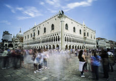 Square San Marco in Venice Royalty Free Stock Image