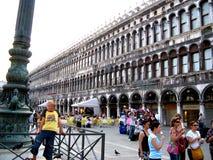 Square San Marco in Venice Stock Photos
