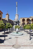 Square of San Rafael Triumph in Cordoba Royalty Free Stock Photography