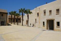 Square in  Santa Catalina castle in Cadiz Royalty Free Stock Images