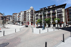 Square in Santander, Cantabria, Spain Royalty Free Stock Photos
