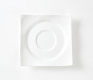 Square saucer Royalty Free Stock Photos