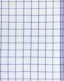 Square Scottish cotton Fabric - pattern Royalty Free Stock Photo