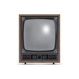 Square screen retro tv Stock Photos