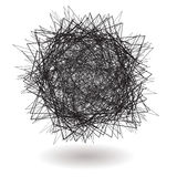 Square scribble Royalty Free Stock Photos