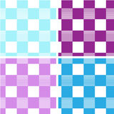 Square seamless. Seamless from light blue ,blue , light violet , violet squares Royalty Free Stock Image