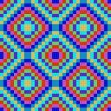 Square seamless blue texture Stock Photos