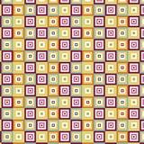 Square seamless pattern Royalty Free Stock Photos