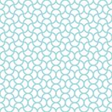 Seamless Pattern Abstract Waves Blue And White vector illustration