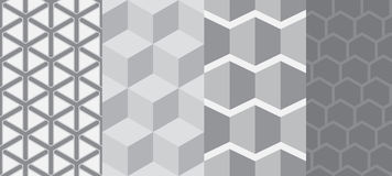 Square seamless pattern Royalty Free Stock Photos