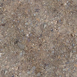 Square seamless texture of the ground with small Stock Photography