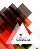 Square shape abstract layouts, business template Royalty Free Stock Photography
