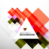 Square shape abstract layouts, business template Stock Photo