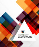 Square shape abstract layouts, business template Stock Images