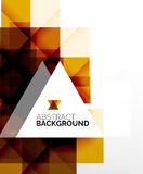 Square shape abstract layouts, business template Stock Photos