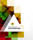 Square shape abstract layouts, business template Royalty Free Stock Photo