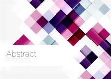 Square shape mosaic pattern design. Universal Stock Photography
